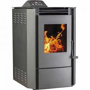 heating greenhouse - pellet stove
