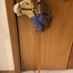 Animal Alley Plush Stick Horse With Sound for sale